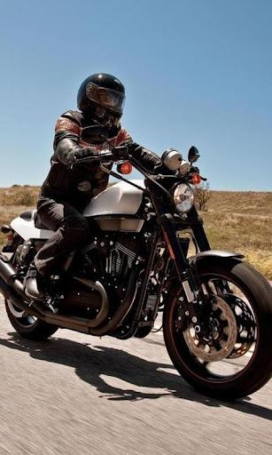 HarleyDavidXR1200Xと壁紙
