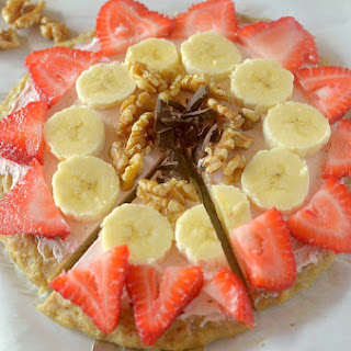 Banana Bread Fruit Pizza