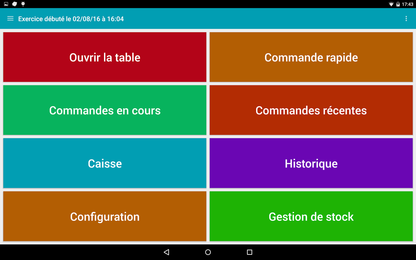 Tablab - Caisse Enregistreuse- screenshot
