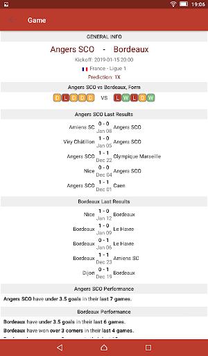Football Tips & Stats - A Football Report 2.4 Screenshots 13