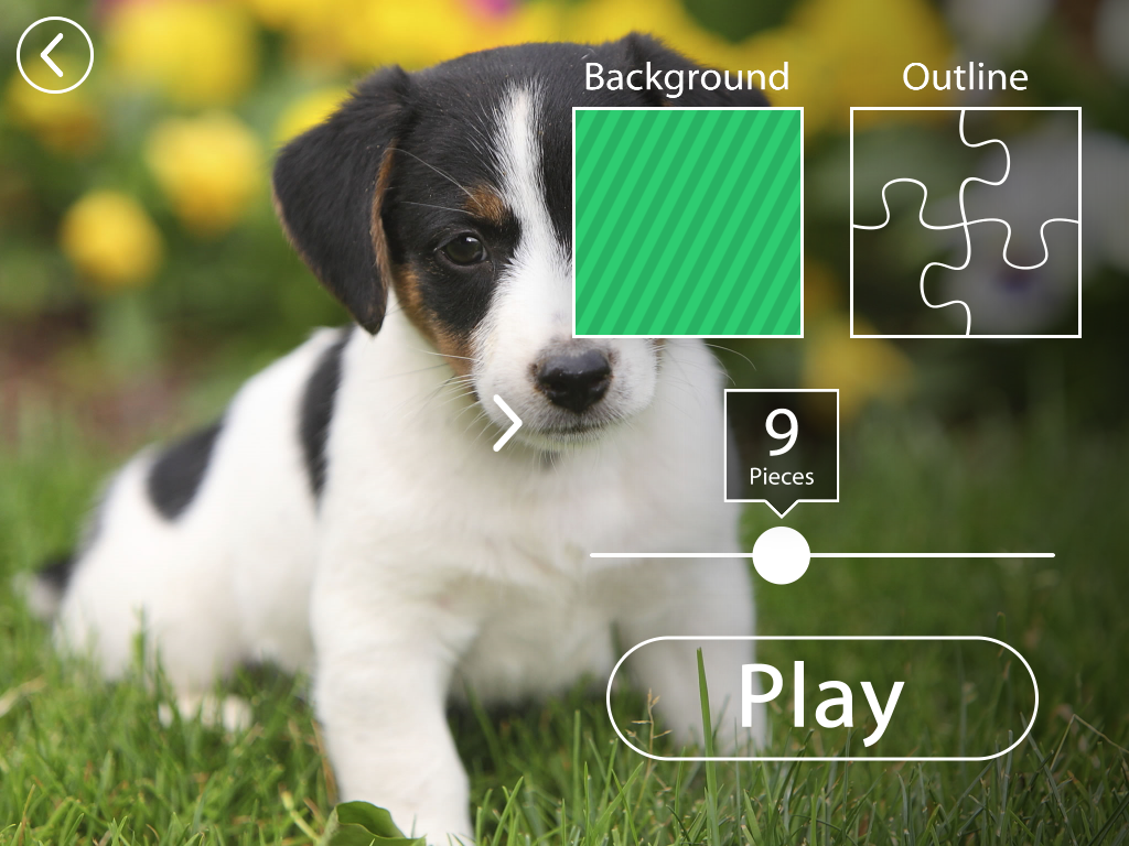 Puppies Jigsaw Puzzles Free Pet Games for Kids- screenshot