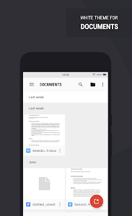 Swift Light Substratum Theme Screenshot