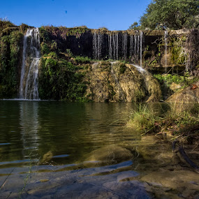 Turkey Creek Falls 2 by Colin Toone - Landscapes Waterscapes ( clear, water, pool, fall, waterfall )