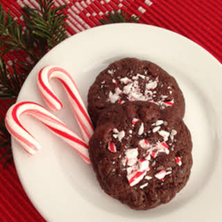 In The Raw® Peppermint Brownie Cookies.