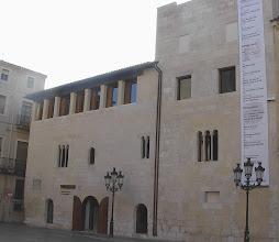 Photo: Palau reial,actualment Museu del vi a Vilafranca del Penedès.