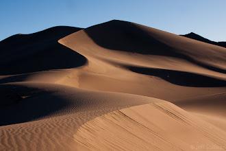Photo: Sand dunes in the Mojave Desert