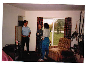 Photo: 1985 party at Bodwin house, this wasn't an MTS event - probably a party to watch a Michigan football or basketball game. (l to r) Jon Sell, Pat Sherry, and Carol Sherry.