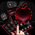 Red Black Apple Dark Launcher Theme 🍎 icon
