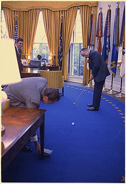 President Nixon carpet