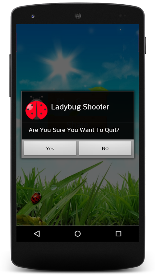 Ladybug Shooter- screenshot