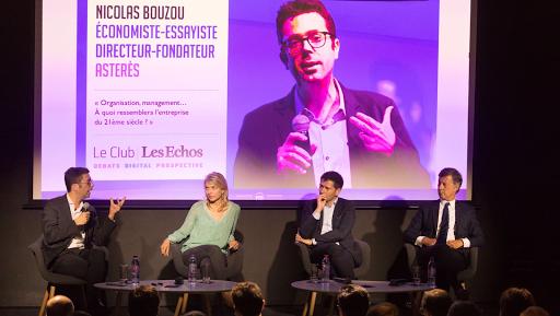 Nicolas Bouzou au Club Les Echos Digital