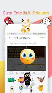 Emojichat Keyboard —Emoji,Sticker,Theme,Gif - náhled