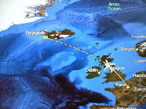Photo: First step : Paris -> Reykjavik