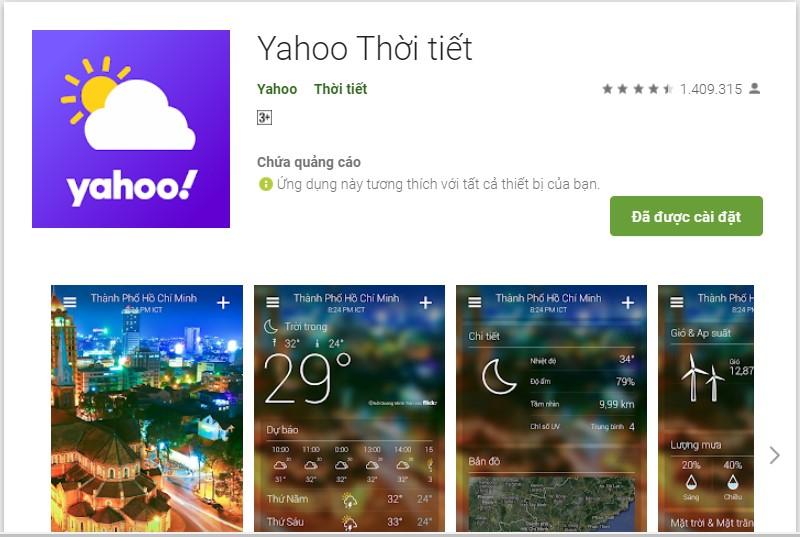 Nhận thông báo cảnh báo mưa giông và ngập lụt nhanh chóng, chính xác với smartphone