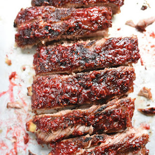 Raspberry Chipotle BBQ Ribs