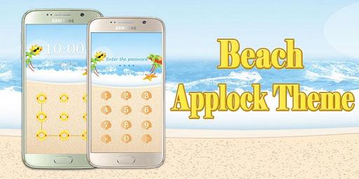 免費下載程式庫與試用程式APP|Applock Theme Beach app開箱文|APP開箱王