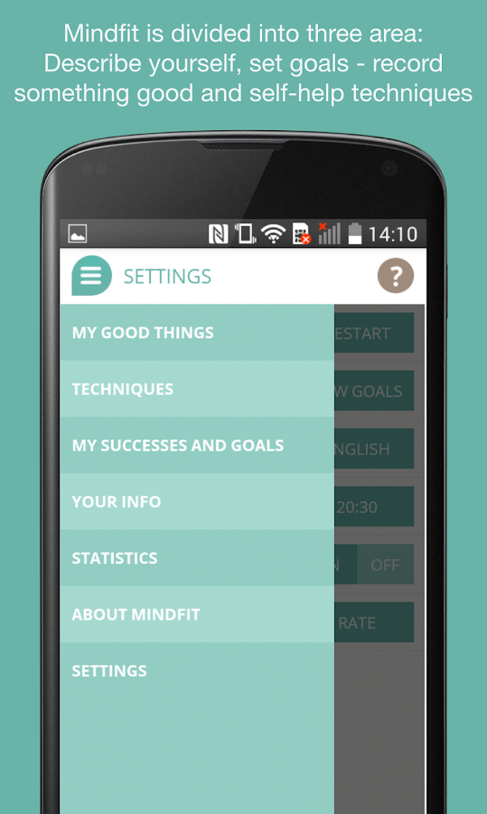 Mindfit- screenshot