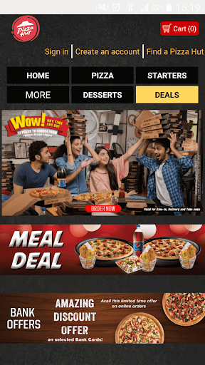 2020 Pizza Hut Pakistan Android App Download Latest