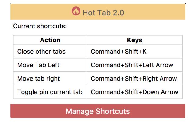 Hot Tab 2.0