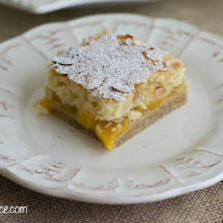 Peach Pie Bars.