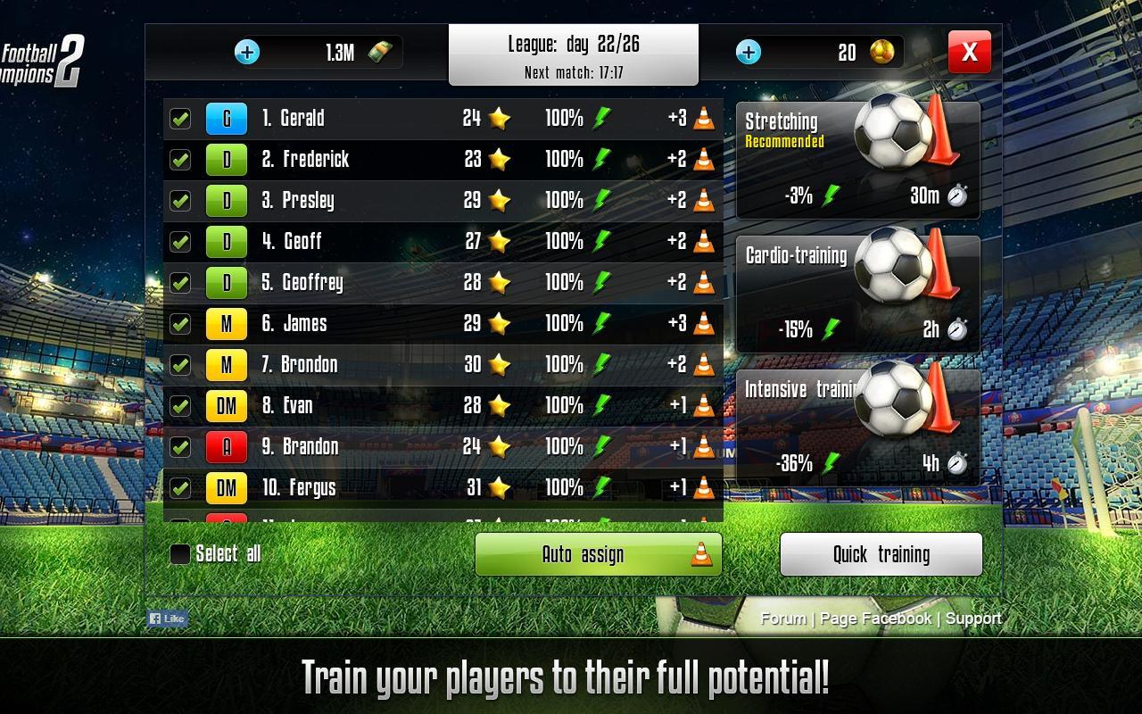 beste online casino champions football