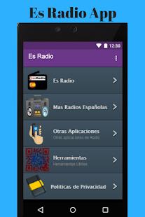 ES Radio App - náhled