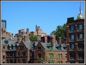 Photo: Looking Northeast from NYC High Line Park