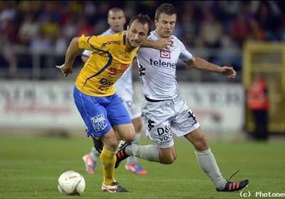 Le médian de l'Olympic Charleroi Mickaël Seoudi est déçu de devoir affronter Lokeren
