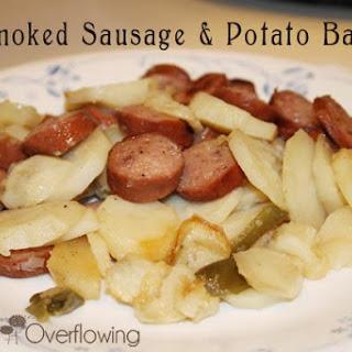 Smoked Sausage & Potato Bake
