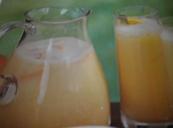 Orange Pick Me Up Recipe