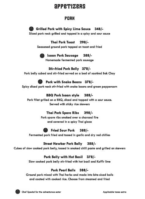 Siam Trading Company menu 8