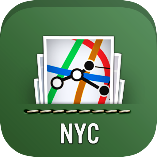 NYC Maps: Subway,Bus,Rail MTA 遊戲 App LOGO-硬是要APP