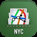NYC MTA Subway, Bus, Rail Maps icon