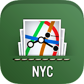 MyTransit Maps NYC Subway, Bus
