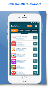 App RichCash free recharge APK for Windows Phone