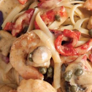 Blackened Shrimp Stroganoff.