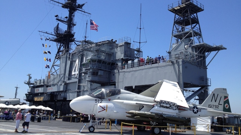 USS Midway Museum in San Diego, CA