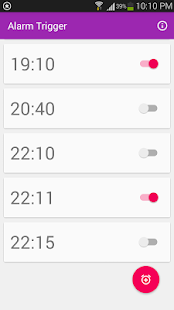 Alarm Trigger for CUT-IN- screenshot thumbnail