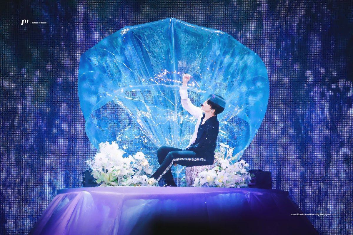 BTS's Jimin Magically Appeared In A Bubble For His