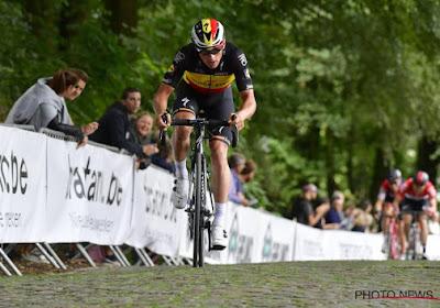 Belgisch kampioen Yves Lampaert start zijn seizoen in Frankrijk