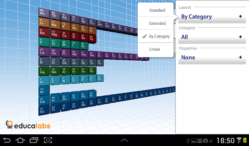 Periodic Table Educalabs - screenshot