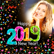 Happy New Year Photo Frame 2019 photo editor