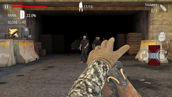 Zombie-Feuer : FPS Screenshot