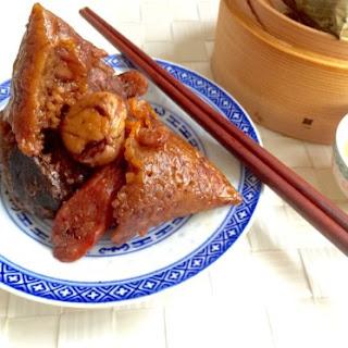 Teochew Sticky Rice Dumplings