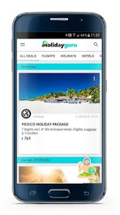 Holidayguru » Travel Deals- screenshot thumbnail