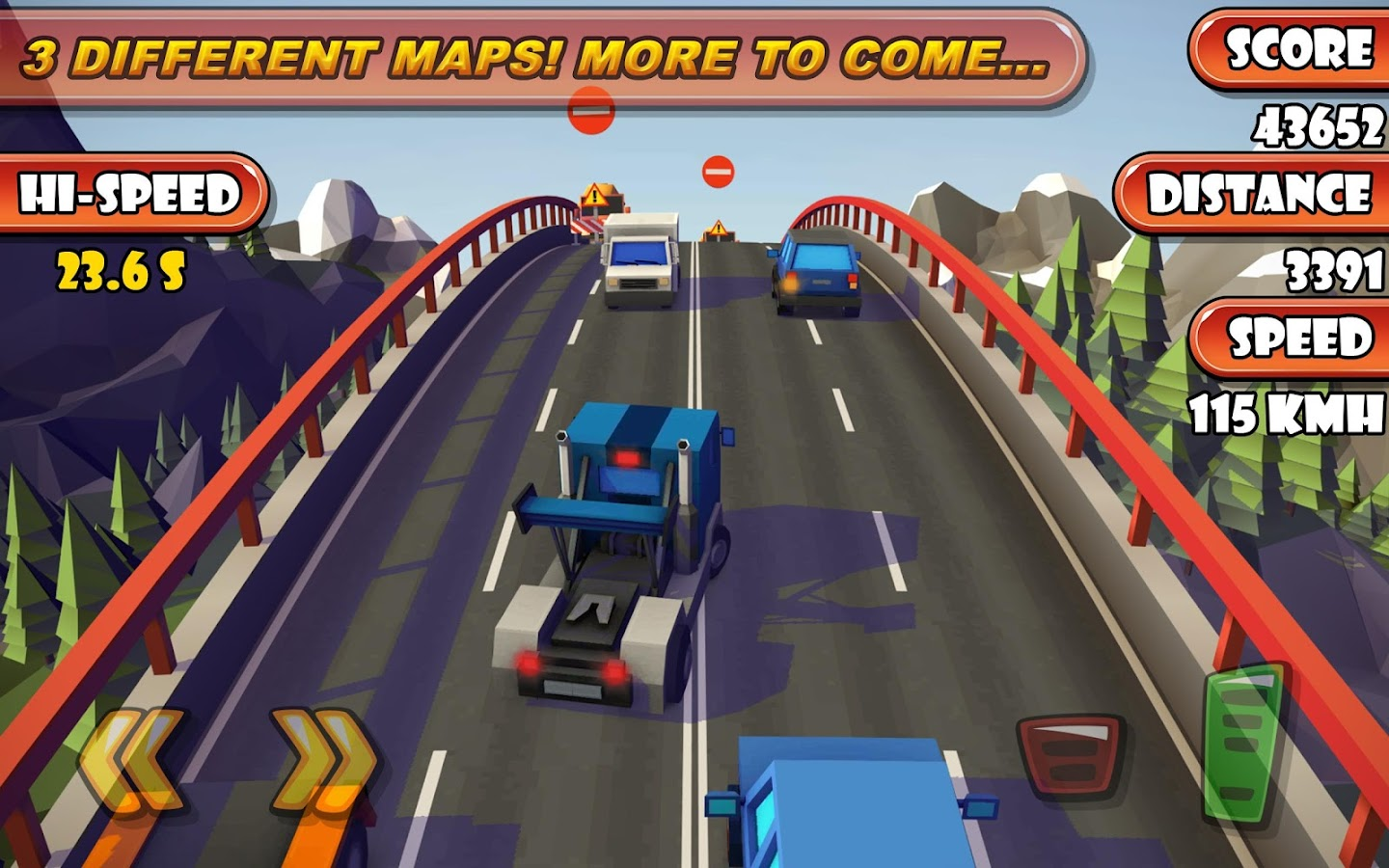 Highway Traffic Racer Planet- screenshot