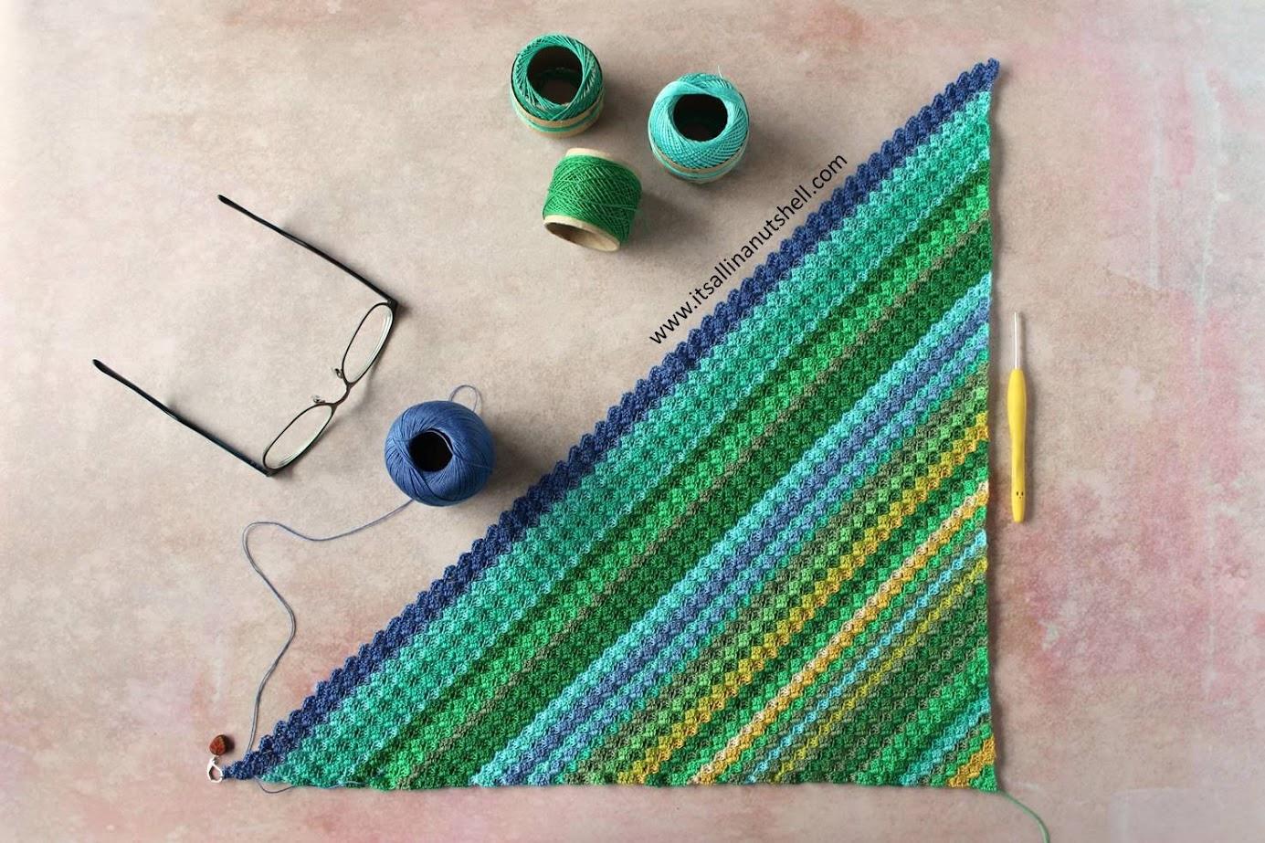How to C2C – Corner-to-Corner Crochet – It's all in a