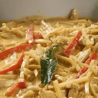 Thai Chicken Coconut Curry.