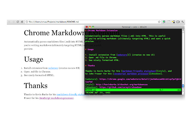 Markdown Preview Plus