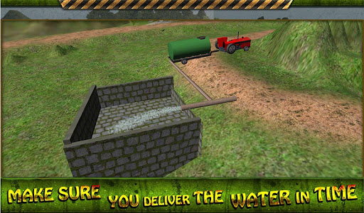 拖拉机水转运3D|玩模擬App免費|玩APPs